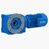 K Helical Bevel Gearboxes with Input Flange