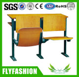 College University Step Ladder Folding Desks with Chairs Sf-04h