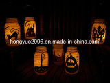 Holloween Decorative Jar Light LED Jar Table Light Chain for Holloween
