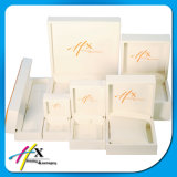 Full Jewelry Packaging Set Luxury White Wooden Jewelry Display Box