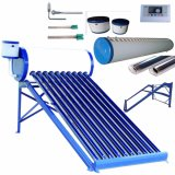 Non-Pressurized Compact Solar Water Heater System (Solar Energy Water Heating System)