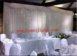 2017 Most Popular Wedding Decoration LED Star Backdrop Curtain with Fireproof
