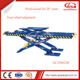 Guangli Brand Stationary Hydraulic Scissor Car Lift for Sale