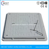 B125 600mm Square Vented Manhole Cover