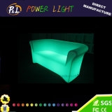 Rechargeable Plastic Lounge Furniture Lithium Battery LED Sofa Furniture