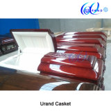 Carve Solid Mahogany Chinese Luxury High Gloss Coffin and Casket
