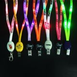 Personalised Promotional Gift Glow in The Dark Necklace Polyester Lanyard