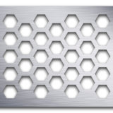 Galvanized Round Hole Perforated Metal for Open Area