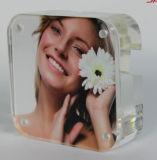 Wholesales Crystal Acrylic Countertop Picture Sign Frame
