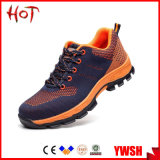 Breathable Fly-Knit Upper Sports Sneakers Safety Shoes