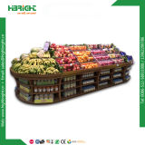 Supermarket Fruit and Vegetable Display Stand