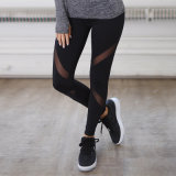 Hot Sale Fitness Leggings Yoga Pants Womens Gym Wear with Mesh
