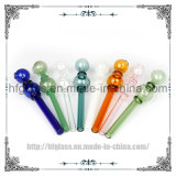 New 5.7 Inches Smoking Water Pipe Hookah Tobacco Accessory Glass Oil Burner