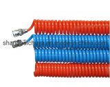 Flexible Air Pneumatic PU Recoil/Coil/Coiled/Spiral Hose