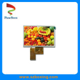 5'' TFT LCD Display with 480*272 Resolution for Security Equipment
