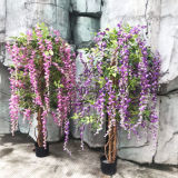 Large Artificial Bean Tree Weeping Willow Artificial Plant