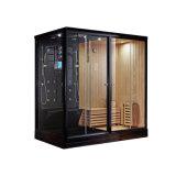 Hot Sale Home Bathroom Three Doors Two Person Steam Sauna Room