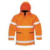 Welcomed Custom Cheap Winter High Visibility Safety Reflective Work Clothes
