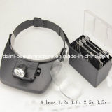 Headband Magnifier Glasses Loupe LED Lights