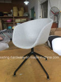 Plastic Restaurant Hay Chair with Cushion