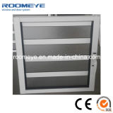 Jalousie Aluminum Windows with The Metal Security Iron Bars