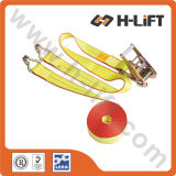 "2"" Ratchet Tie Down with Double J Hook / Ratchet Lashing"