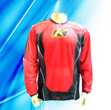 100% Polyester Man′s Long Sleeve Motor Wear