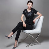 Latest Designs Ladies Suit Woolen Black Women Tuxedo Suits