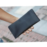 Fashion Trendy Multi-Functions Leather Wallet Mentravel Document Passport Holder/Phone Purse (X001)