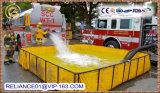 Open Top Foldable PVC Frame Water Tank for Fire Fighting