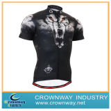 Black Fashion Fit Stylish Cycling Jersey for Men