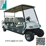 Eight Seats Electric Golf Car Including Tow Flip-Flop Seats