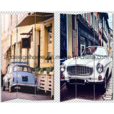 Hot Sale 3 Panel Canvas/Wooden Screen & Room Dividers with Spontaneous Relax Chill Comfortable Bike Car Boat Print