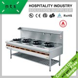 Stainless Steel Gas Stove Chinese Cooking Range