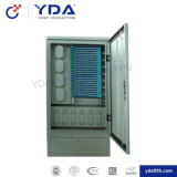 Outdoor Network Fiber Optic Distribution Outdoor Cross Connect Cabinet