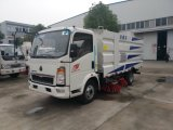 Sinotruck HOWO Road Sweeper Cleaning Truck Vacuum Vehicle Mobile Cleaning Washing Truck