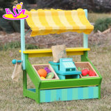 New Design Funny Fruit Play Set Wooden Kids Supermarket Toy W10A060
