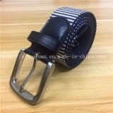 Fashionable Stripe Interwoven Elastic Ribbon Belt Leather Accessories