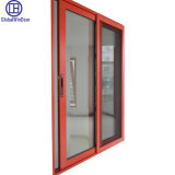 Cheap Single Tempered Glass Aluminium Sliding Window with Screen