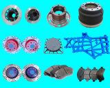 Ductile Iron Grey Iron Sand Casting Modified Painted Ceramic Brake Disc Wheel Hub Truck Brake Shoes Brake Drum Brake Pads Auto Car Truck Spare Parts