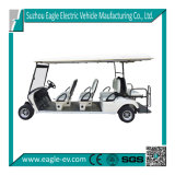 Electric Golf Car, Eg2068ksf, 8 Seats with Dumper Seat, CE Approved