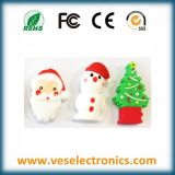 Special Items PVC Custome USB Flash Drive as Christmas Gift