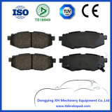 Subaru Tribeca Low Noise Ceramics Painted Plastic Rear Brake Pad D1124