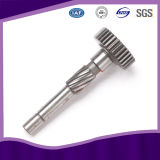 Stainless Steel Gear Shaft with ISO 9001 Approved