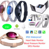 Smart Bracelet with Heart Rate Monitor and Call Reminder (Z18)