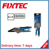 "Fixtec Hand Tools CRV 9"" Long Nose Locking Plier"