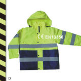 Hi Vis En471 Jacket Reflective Safety Coat for Wholesale