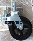 ANSI Certified Building Material/Construction High Quality 8'' Caster Wheel with Brake (CSC8)