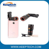 High Quality Universal Clip Mobile Phone Camera 8X Zoom Lens Optical Telescope Lens for All Smart Phone