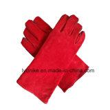 Wholesale Cowhide Leather Reinforce Welding Work Gloves